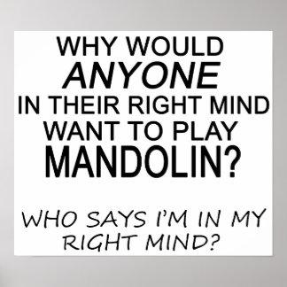 Right Mind Mandolin Poster