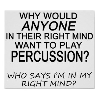 Right Mind Percussion Poster