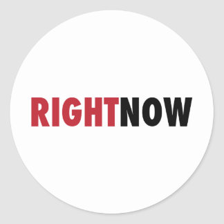 Right Now Sticker