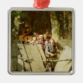 Right of Way Christmas Ornament