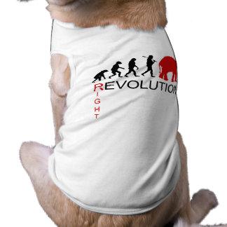 RIGHT REVOLUTION DOG TEE