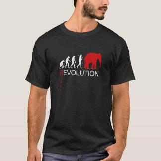 RIGHT REVOLUTION (white) T-Shirt