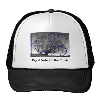 Right Side of the Bush Cap