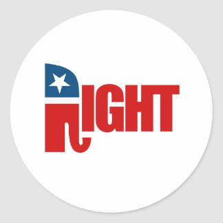 RIGHT ROUND STICKERS