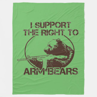 Right To Arm Bears Blanket