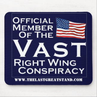 Right Wing Conspiracy Mouse Pad