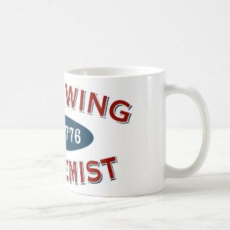 Right-Wing Extremist Est 1776 Basic White Mug