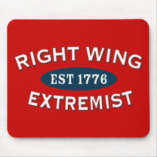 Right-Wing Extremist Est 1776 Mouse Pad