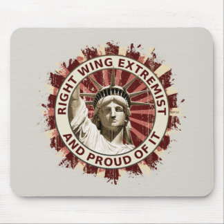 Right Wing Extremist Mouse Mat