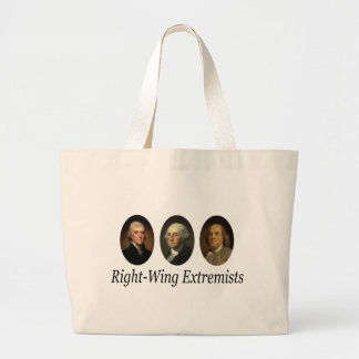 Right-Wing Extremists Jumbo Tote Bag