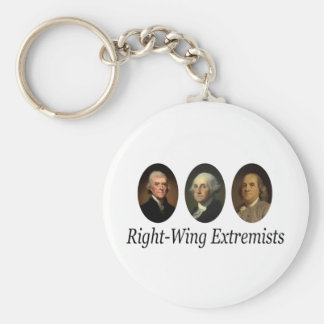 Right-Wing Extremists Keychain