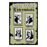 Right Wing Extremists! Posters