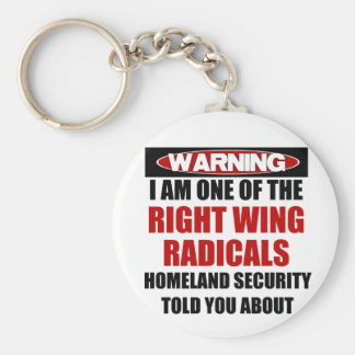 Right Wing Radical Keychains