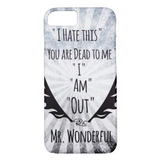 RightOn Mr. Wonderful iPhone 7 Case