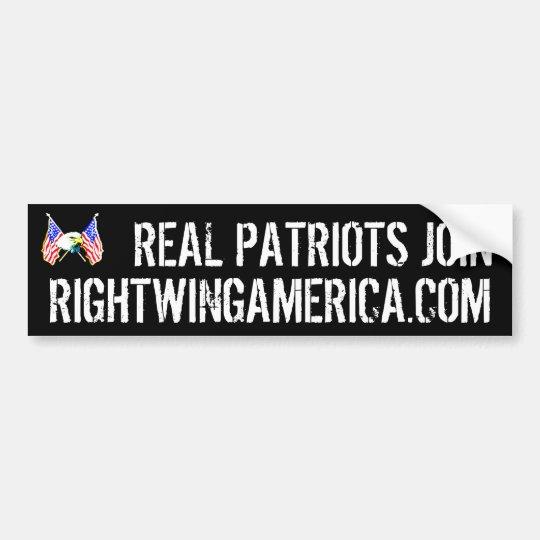 Rightwingamerica.com Bumper Sticker