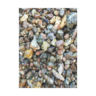 Rigid River Rocks Canvas Print