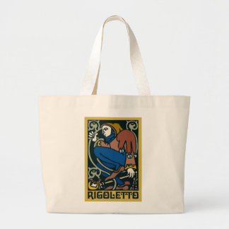 Rigoletto, Opera Large Tote Bag