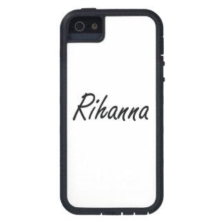 Rihanna artistic Name Design iPhone 5 Cover