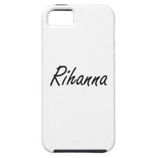 Rihanna artistic Name Design iPhone 5 Case