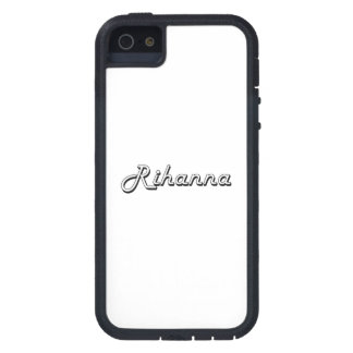 Rihanna Classic Retro Name Design Tough Xtreme iPhone 5 Case