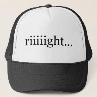 Riiiight… Un-motivational cap