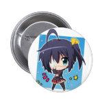 Rikka Takanashi chibi (Chuunibyou_Anime) 6 Cm Round Badge