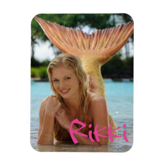 Rikki Rectangular Photo Magnet