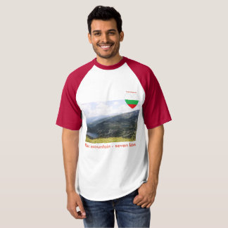 Rila mountain - seven lakes T-shirt "Love Bulgaria