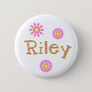riley 6 cm round badge