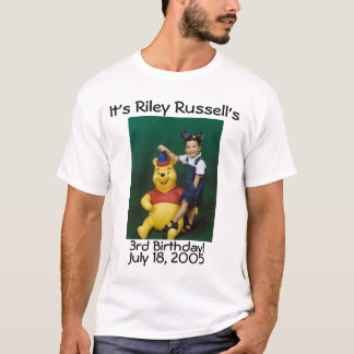 riley russell 3rd T-Shirt