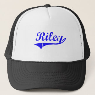 Riley Surname Classic Style Trucker Hat