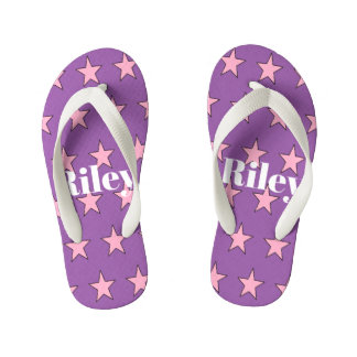 #Riley toddler flip flops by DAL