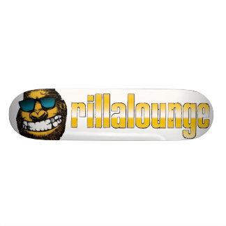 Rilla skateboard white