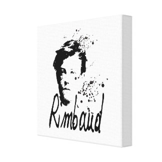 RIMBAUD - Graphic Art Canvas Canvas Print