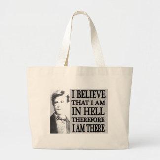 Rimbaud in Hell Jumbo Tote Bag