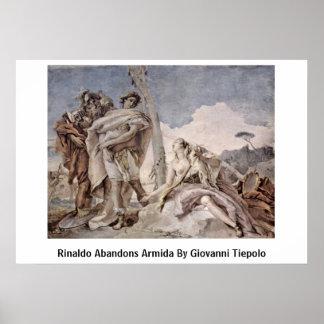 Rinaldo Abandons Armida By Giovanni Tiepolo Print