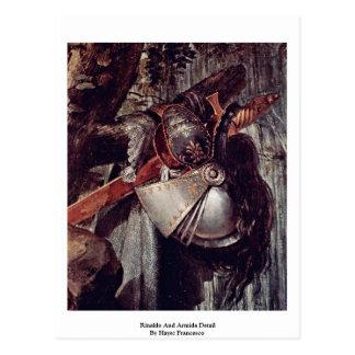 Rinaldo And Armida Detail By Hayez Francesco Post Cards