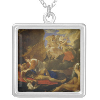 Rinaldo and Armida Silver Plated Necklace