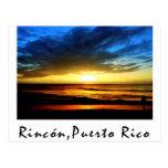 Rincón Beach Puerto Rico Postcards