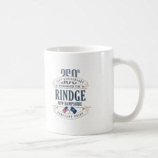 Rindge, New Hampshire 250th Anniversary Mug