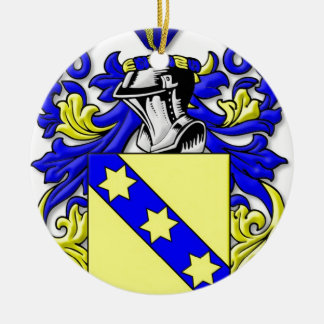 Rinehart Coat of Arms Round Ceramic Decoration