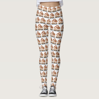 Ring-a-Ding-Ding Bride Wedding Bachelorette Funny Leggings