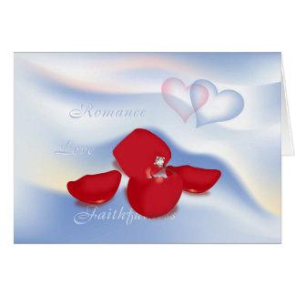 Ring and Petals Card