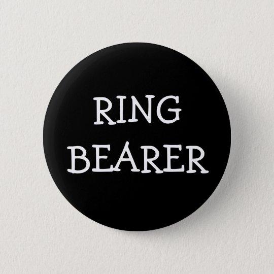 Ring Bearer 6 Cm Round Badge