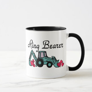 Ring Bearer Backhoe Mug