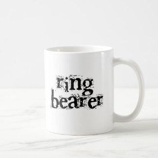 Ring Bearer Black Text Classic White Coffee Mug