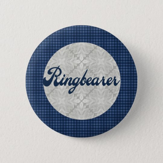 Ring Bearer Button