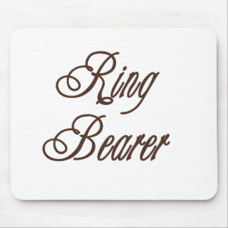Ring Bearer Classy Browns Mouse Mats