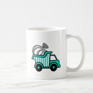 Ring Bearer Dump Truck Mugs