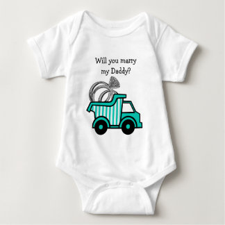 Ring Bearer Dump Truck T-shirt